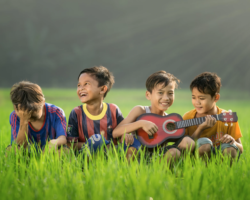 Playing an instrument strengthens skills and build confidence